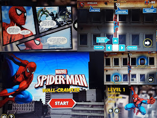 Marvel Kids Spiderman Wall Climer Game Review