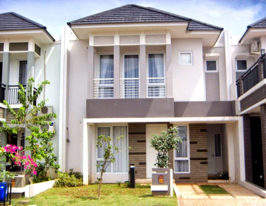 55 Konsep Rumah Lantai 2 HD