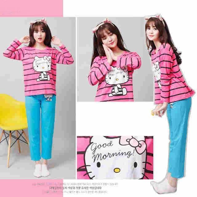 Baju Tidur Hello Kitty Untuk Dewasa Produk Terbaru 26 Mei