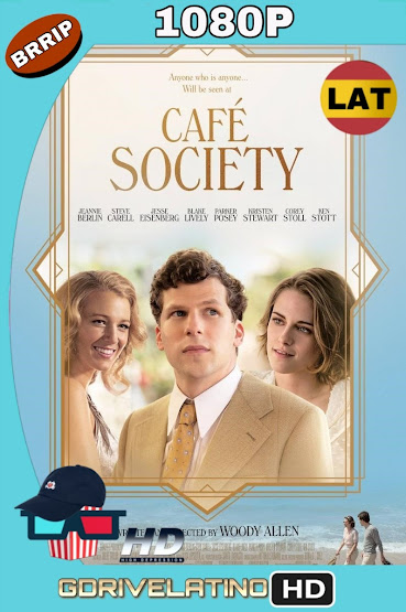Café Society (2016) BDRip 1080p Latino-Ingles mkv