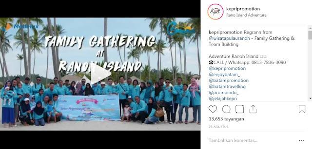 0813-7836-3090 - Outbound Batam Company Gathering and Team Building Adventure Ranoh Island