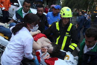 Μπογκοτά: Ισχυρή έκρηξη στο Mall center - 3 γυναίκες νεκρές, 11 τραυματίες [photos - videos]