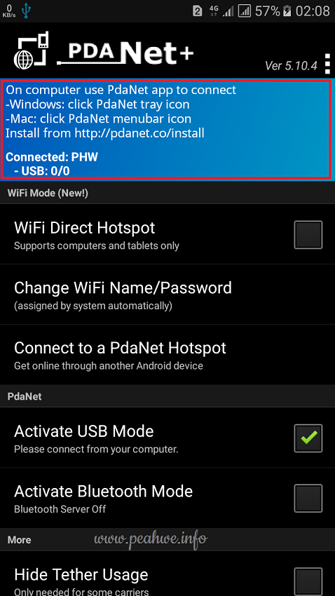 PdaNet+ Premium V5.10.4 Full Version Apk