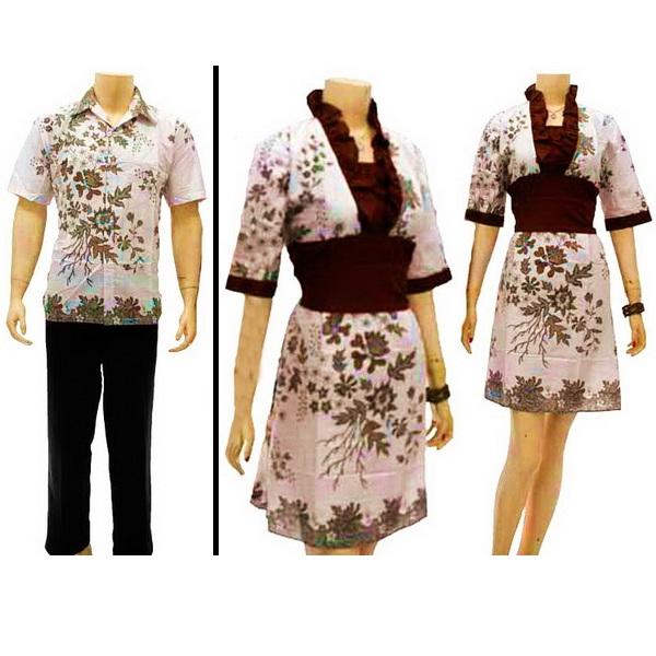 Toko Baju Batik Solo: Sarimbit Dress Motif Batik Solo