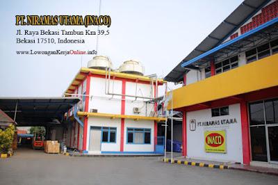Loker PT Niramas Utama Inaco Food