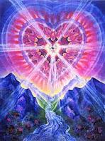 Les cascades de Lumière inondent mon cœur intérieur. L'homme qui cultive son cœur se rassasie d'Amour. Et la porosité de mon cœur est un espace pour l'écume de Son Amour, qui vivifie et éclaire mon âme.