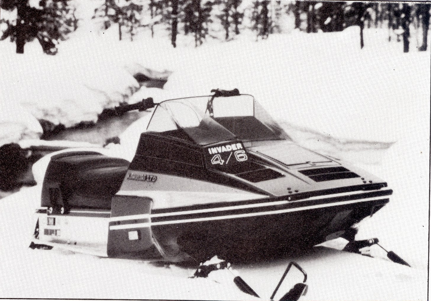 CLASSIC SNOWMOBILES OF THE PAST: 1980 KAWASAKI INVADER LTD 4/6