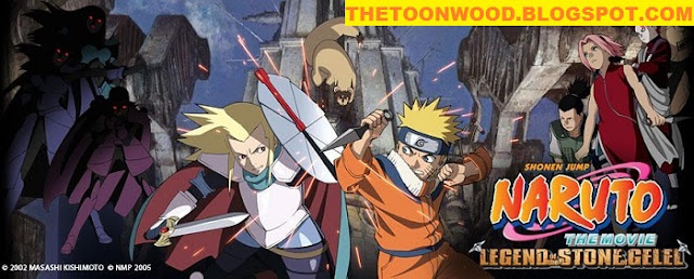 Watch Online Or Download Naruto The Movie 2 : Legend of the Stone of Gelel In Hindi