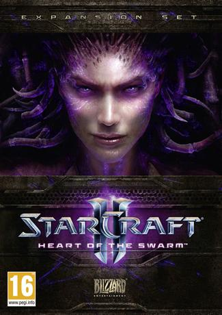 StarCraft 2 Heart of The Swarm PC Cover Art