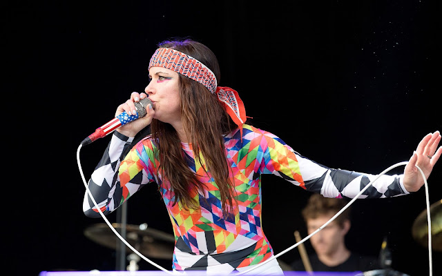Actress, Singer, @ Juliette Lewis and The Licks performs at Grona Lund Tivoli in Stockholm, Sweden