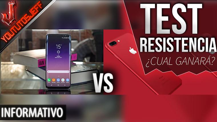 Enfrentan al iPhone 7 con el Galaxy S8 en un test de resistencia ¿Cual ganará?