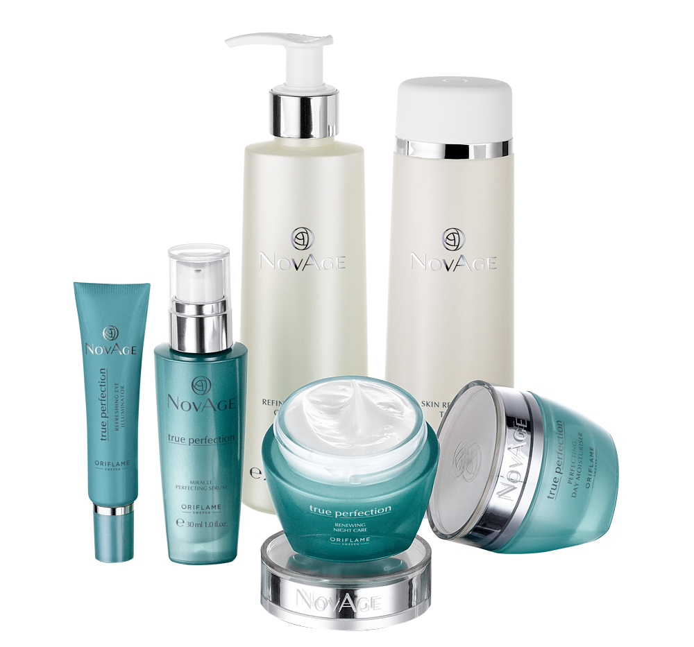 Conjunto True Perfection NovAge da Oriflame