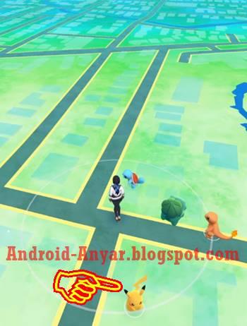 Cara mendapatkan pikachu di awal bermain Pokemon GO 100% jitu