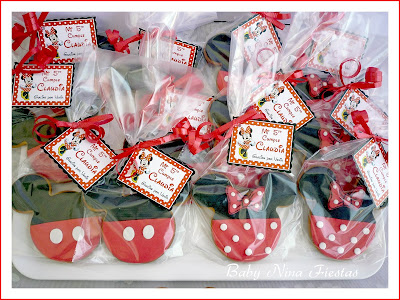 kit personalizado Minnie Mouse