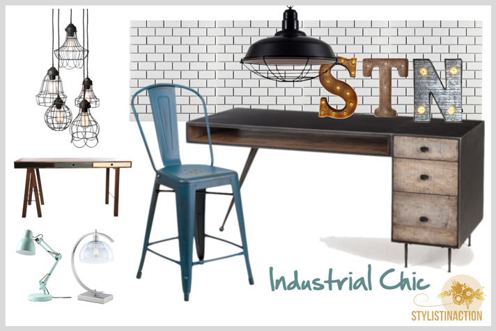 home office portada post by stylistinaction - Industrial Chic style - fuente foto www.ikea.com