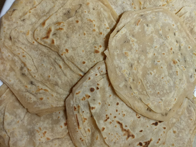 Layered Paratha to be Frozen
