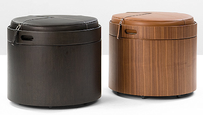 sorage stool / pouf