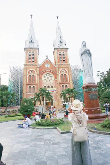 Notre Dome Bassilica Ho Chi Minh Vietnam
