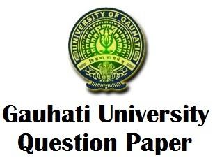 Gauhati University Engineering Question Paper