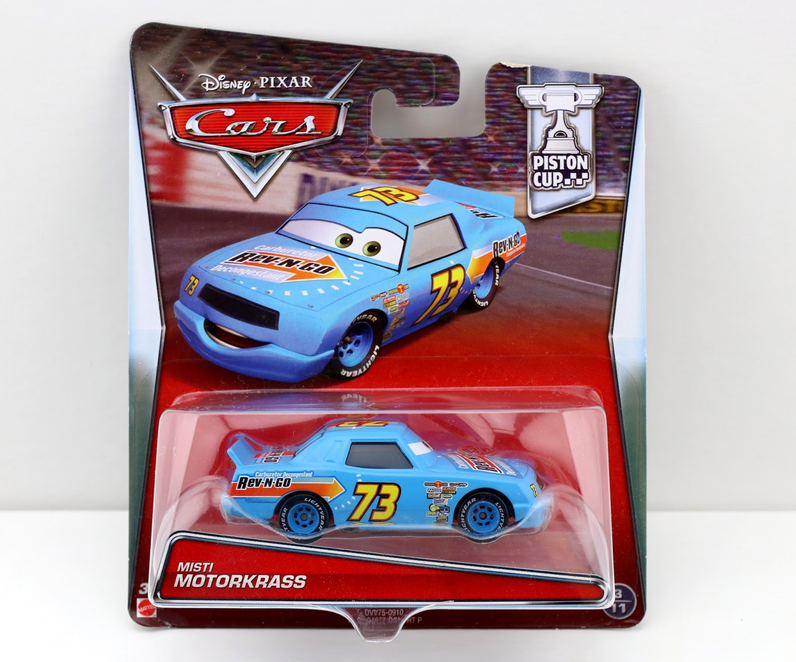Cars Misti MotorKrass (Rev 'N' Go)