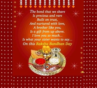 Happy Raksha Bandhan Poems, Happy Rakhi Poems for Brothers and Sisters