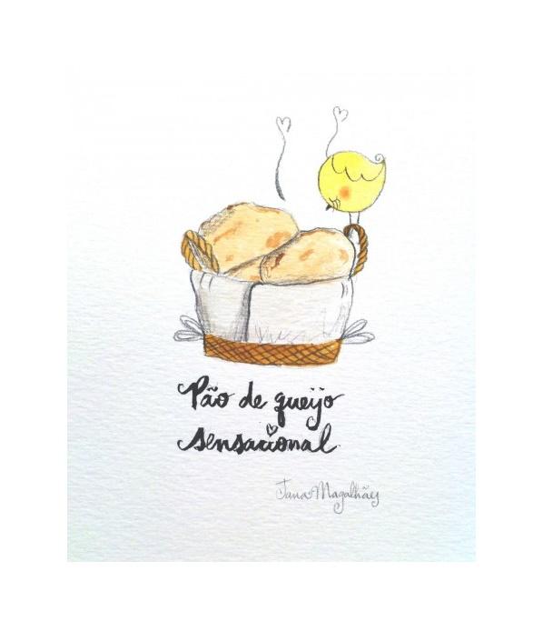 #TôDiBobis, receita de pão de queijo sensacional