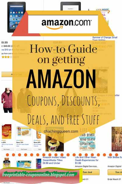 Coupon codes amazon