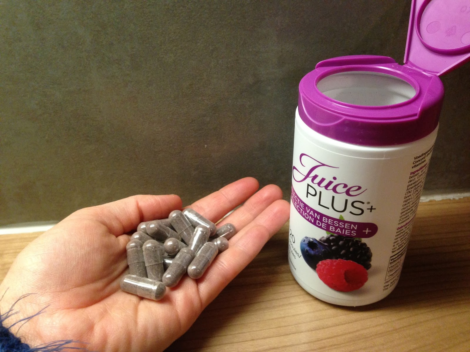 bessen capsules haargroei