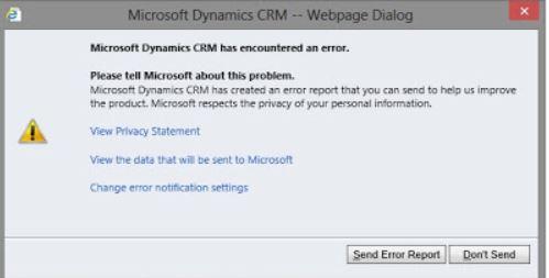 jalopy how to send error report