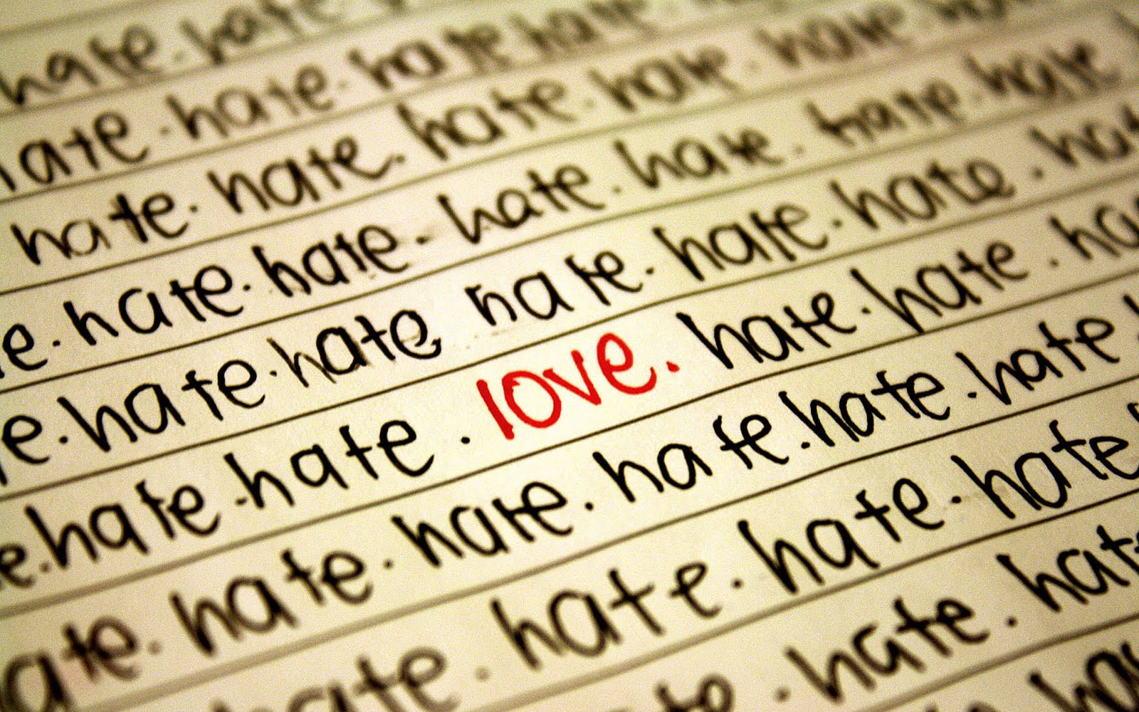 wallpaper: Hate Love Wallpaper