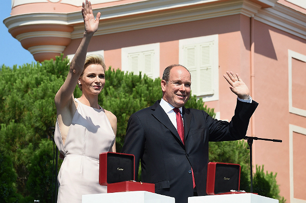 10-anniversary of Coronation: Prince Albert II and Princess Charlene took gifts