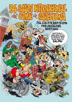 """La nave de """"Independence Day 2: Resurgence"""", da la bienvenida al público en el 34 Salón Internacional de Cómic de Barcelona"""
