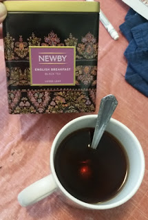 newby english breakfast tea and cup