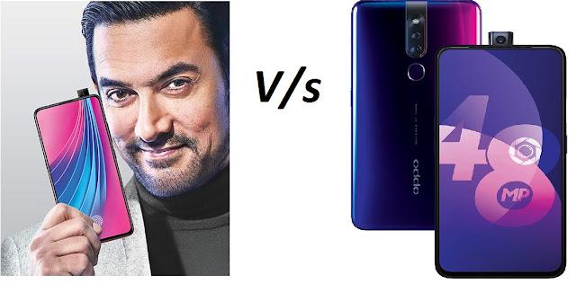 OPPO F11 Pro V/s Vivo V15 Pro comparison