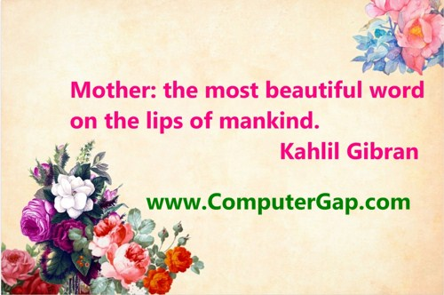 Happy Mothers Day Sayings Cool Mothers day quotes