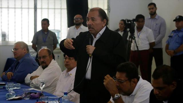 """Ortega solicita parar violencia entre """"hermanos"""" nicaragüenses"""