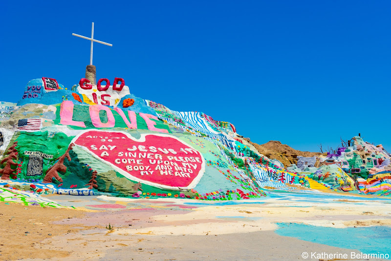 Salvation Mountain Salton Sea Ghost Towns Photography