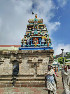 Temple dedicated to lord murugan