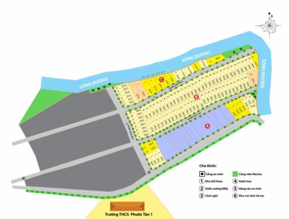 Đất nền dự án marina biên hòa