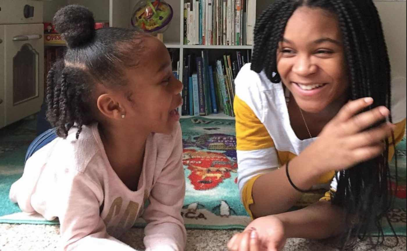 Two Sisters Read Bedtime Stories For Kids On Facebook Live Every Night