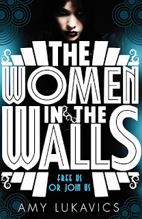 UK cover of The Women in the Walls by Amy Lukavics