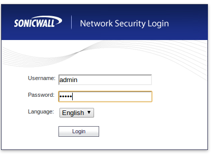 Reset SonicWall NSA 4500 to Factory Default Configuration – Cyber