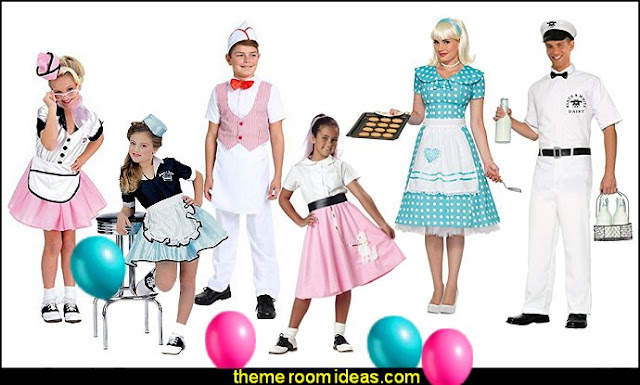 50s party ideas - 50s party decorations - 1950s Theme Party - 1950's Rock and  Roll Themed Party Supplies - 50s Rock and Roll Theme Party - 50s party decorations - 50s party props - 50s diner party  - 50s Costume