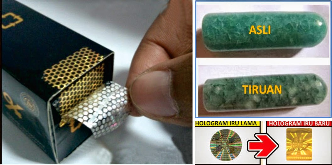 ciri ciri crystal-x asli dan palsu