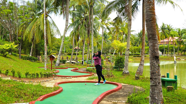 Mini Golf at SIjori Resort and Spa Batam