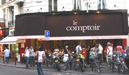 Paris missives le comptoir du relais restaurant review - Le comptoir paris restaurant ...