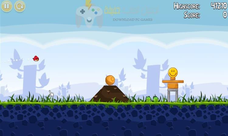تحميل لعبة الطيور الغاضبة للكمبيوتر والموبايل من ميديا فاير