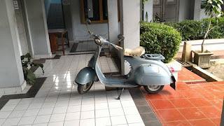 DIJUAL VESPA VBB Tahun 1965 Fullpaper - JAKARTA