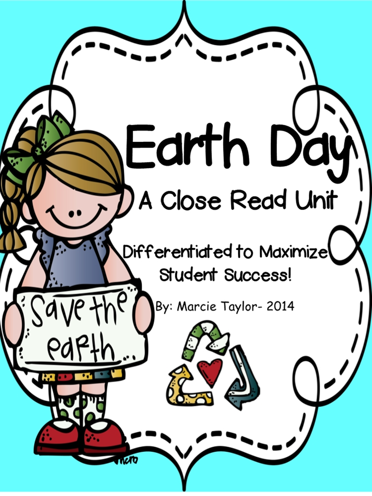 Sunny And Bright In First Grade Earth Day