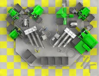 Kameralı CNC Tezgah Besleme Robotu